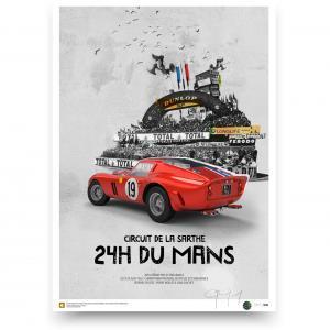 Ferrari 250 gto 1962 Le Mans